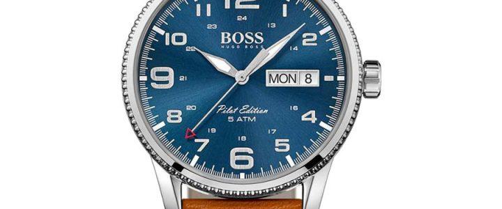Een Hugo Boss horloge is altijd mooi